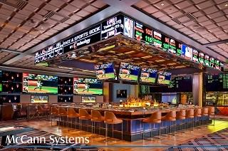 McCannVision LED Sports Ticker with Live iCandy Sports Scores